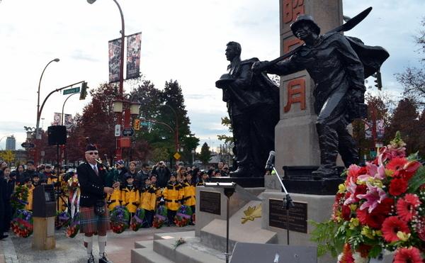 温哥华侨界将在和平纪念日举行献花仪式