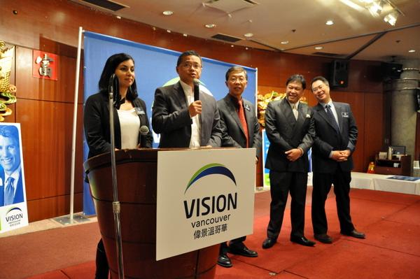 多位华裔温哥华市议员谋连任