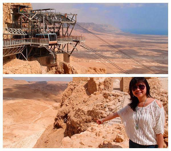 Day 6-002-Masada with Eva