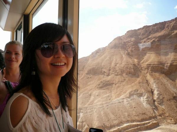 Day 6-004-Masada-notice the visitors are all smile